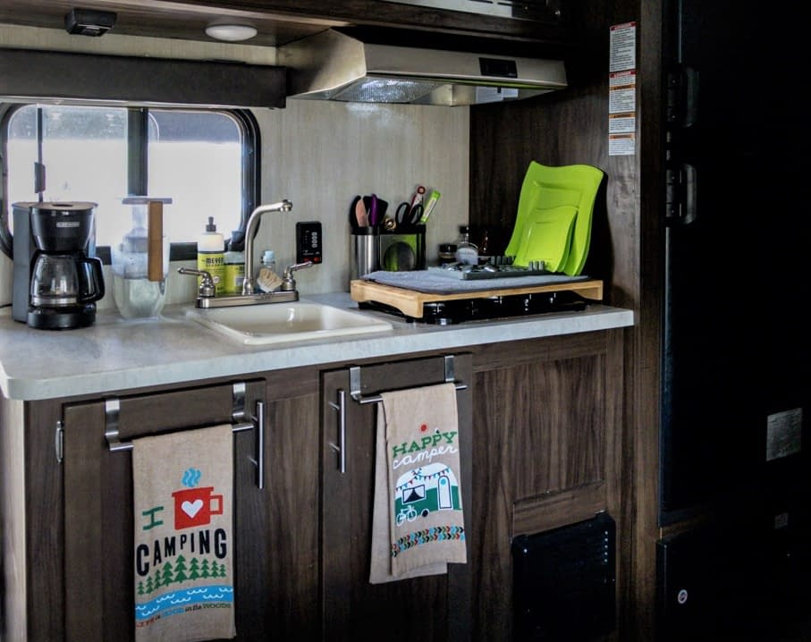 How To Easily Organize Your Tiny Camper Kitchen A Pragmatic Lens